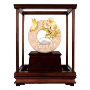 DY 芝蘭之香琺瑯彩玻璃櫥