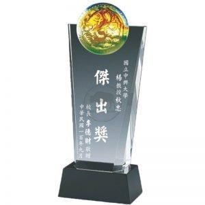 客製化水晶獎牌