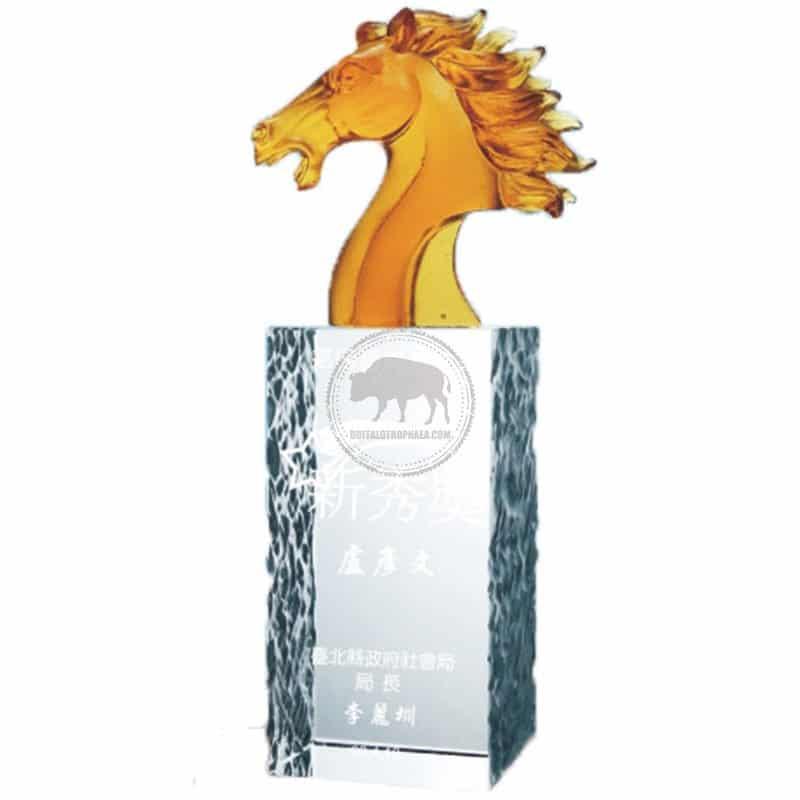 YC KA 琉璃水晶獎盃