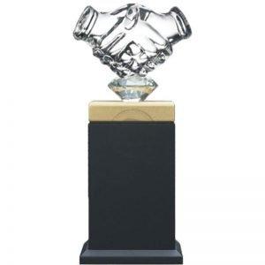 YC K  水晶直型獎盃