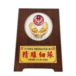 DY-089-11 警察立式獎牌