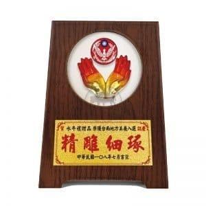 DY-091-5 警察站立式桌牌