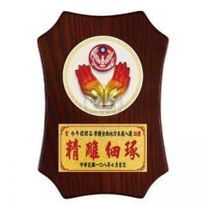 DY-099-5 警察桌立式獎牌