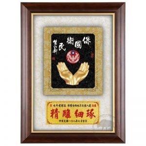 DY-184-6 警察木質壁掛式獎牌
