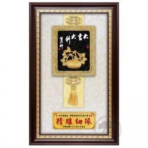 DY-198-8 大吉大利壁掛式木匾