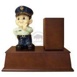 警察旋轉筆筒筆座 N2003