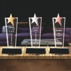 PF  全國禮贈品水晶獎盃訂製