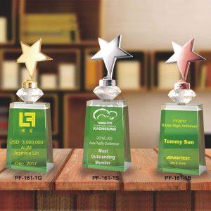 PG-161-1-GB Crystal Awards