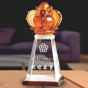 PG 競賽水晶獎盃製作