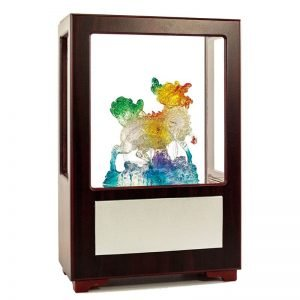 UBA 富貴麒麟水琉璃玻璃櫥
