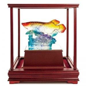 UBB 一路長紅水琉璃玻璃櫥窗