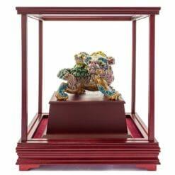 UHB 事事(獅獅)如意交趾陶玻璃櫥櫃