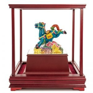 ULB 馬上發財彩繪雕塑玻璃櫥窗