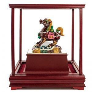 ULB 馬上有錢彩繪雕塑玻璃櫥窗