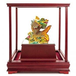 ULB 獨佔鰲頭彩繪雕塑玻璃櫥窗
