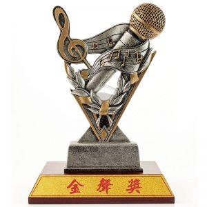 VFA 歌唱造型獎盃定製