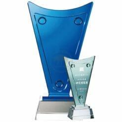 製作水晶獎牌