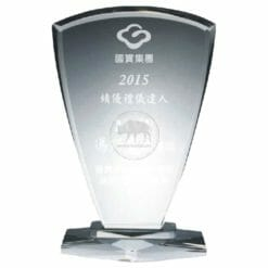 臺灣水晶獎牌