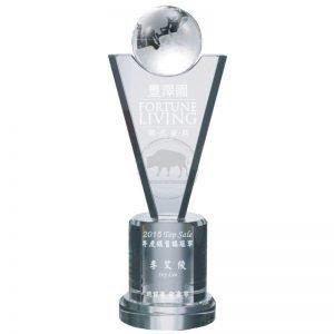 YC-681-01 Crystal Awards