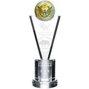 YC-681-02 Crystal Awards