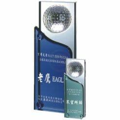 高爾夫水晶獎座贈品