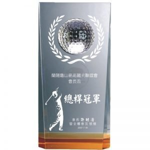 YC-G522 Crystal Golf Awards