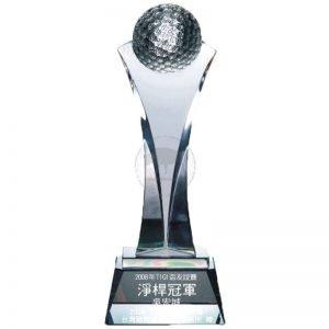 Inheritance Crystal Golf Awards