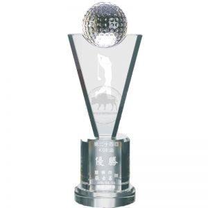YC-G681 Crystal Golf Awards