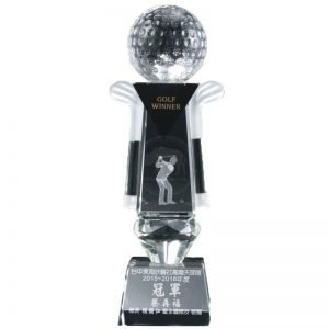 YC-G682 Crystal Golf Awards