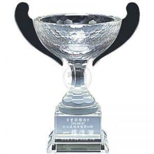 Winner Trophy Crystal Golf Awards