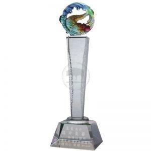 Winning Crystal Trophies