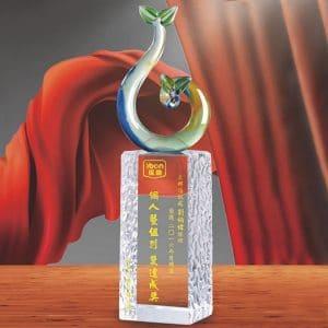 24小時水晶獎盃訂購 PD-031-2