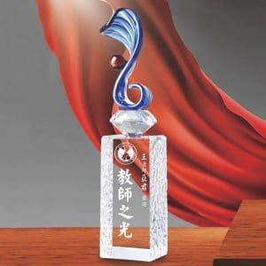 可愛水晶獎盃訂作 PD-032