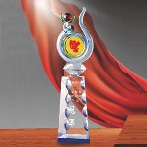 24小時水晶獎盃訂作 PD-061-1