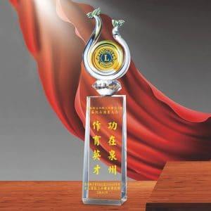 藝品水晶獎盃訂做 PD-067-1