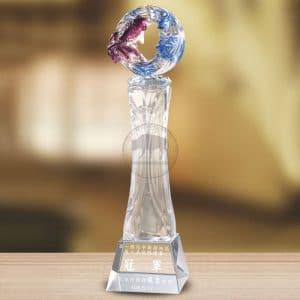 模範便宜水晶獎盃 PE-047