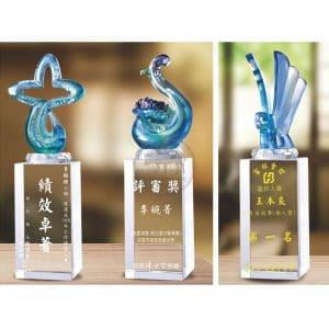 琉璃水晶獎盃網路購物 PE-111113