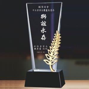 特別水晶獎盃客製 PF-003-15