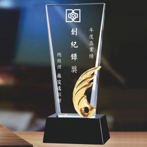母親水晶獎盃網購 PF-003-17