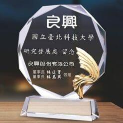 母親水晶獎盃訂購 PF-006-3