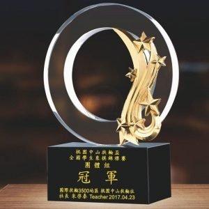 母親水晶獎盃訂製 PF-060-7