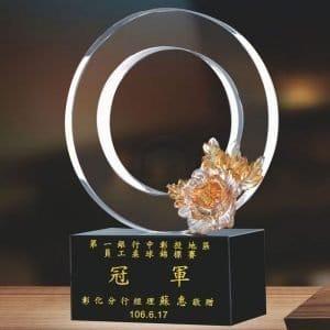 時尚水晶獎盃定製 PF-060-G1
