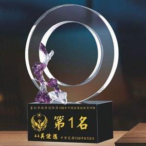 第一名水晶獎盃網購 PF-060-G3
