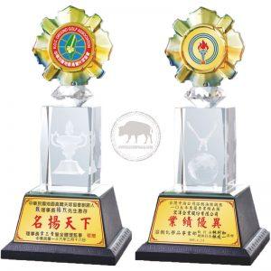 簡單水晶獎盃網路購物 PH-075-0001