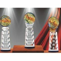 平價水晶獎盃訂做 PI-053