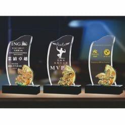 模範水晶獎盃訂做 PX-005-0002