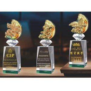 Crystal Awards - Unbeatable - Green PX-006-0002