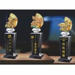 模範水晶獎盃買 PX-012-0002