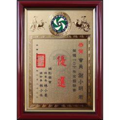 A4 標準獎狀證書 F100-11