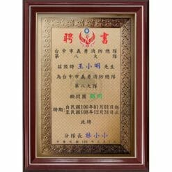 A4 模範獎狀證書 F1013